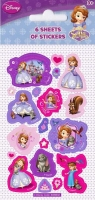 Wholesalers of Disney Sofia The First 6 Sheet Party Stickers toys image