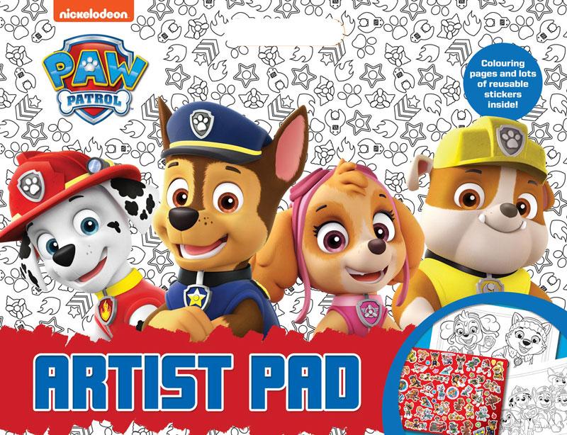 Wholesalers of Paw Patrol Artist Pad toys