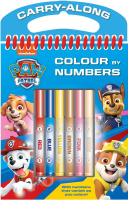Wholesalers of Paw Patrol Colour By Numbers toys image
