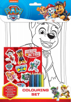 Wholesalers of Paw Patrol Colouring Set toys image
