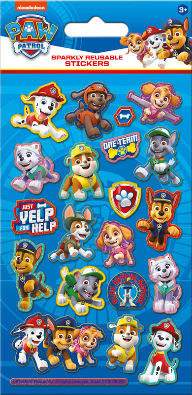 Wholesalers of Paw Patrol Foil Stickers toys