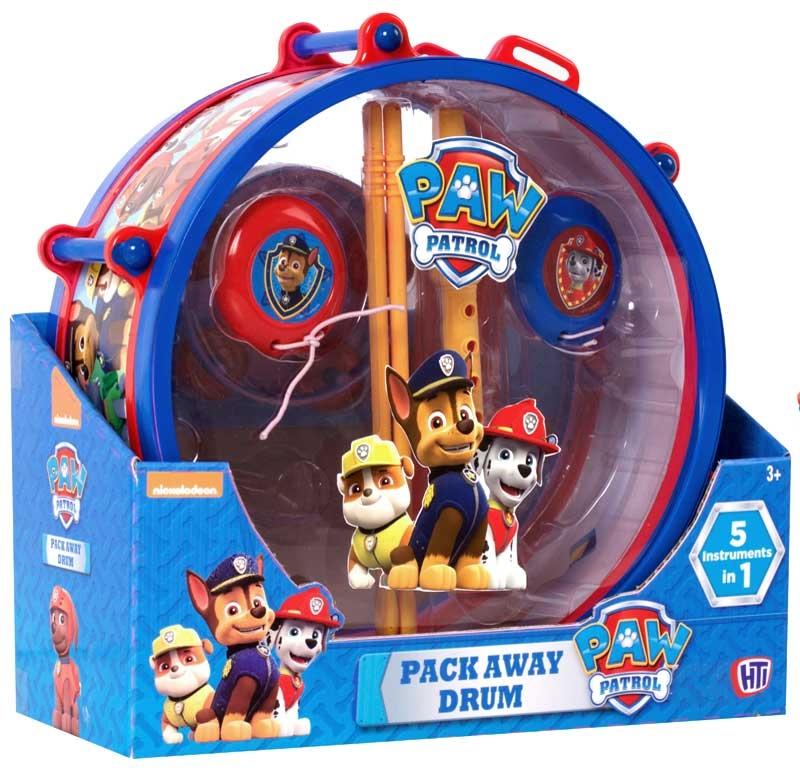 Wholesalers of Paw Patrol Pack Away Drum toys