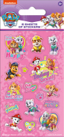 Wholesalers of Paw Patrol Pink Party  6 Sheets Stickers toys image