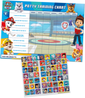 Wholesalers of Paw Patrol Potty And Toilet Reward Chart And Stickers toys image 2