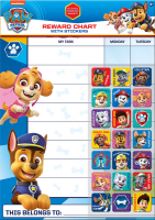 Wholesalers of Paw Patrol Reward Chart And Stickers toys image