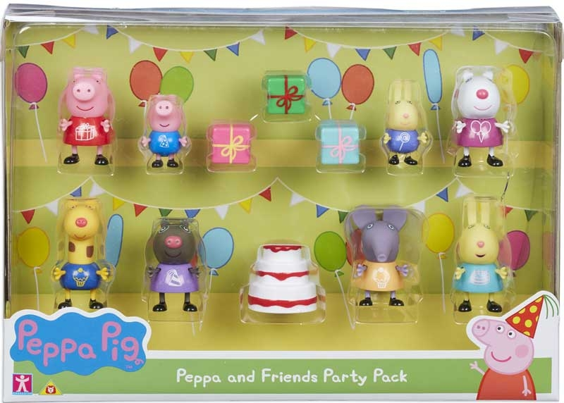 Wholesalers of Peppa And Friends Party Pack toys