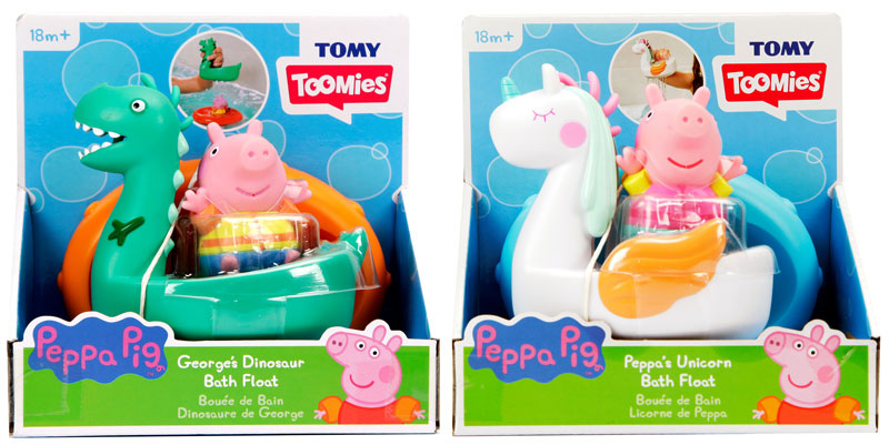 Wholesalers of Peppa Bath Floats Asst toys