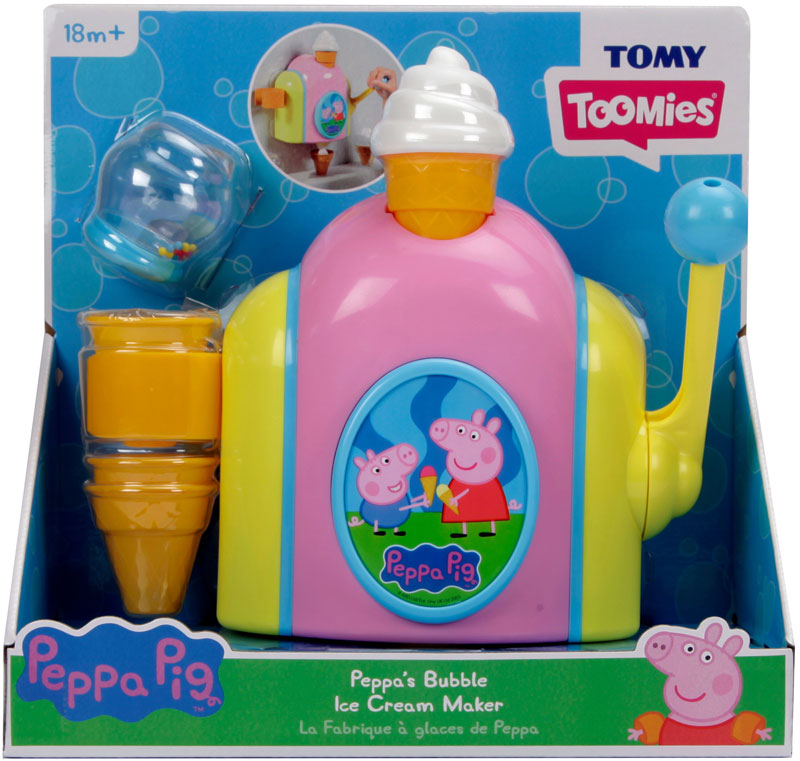 Wholesalers of Peppa Bubble Ice Cream Maker toys