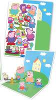 Wholesalers of Peppa Pig  Pop Up Stickers Stickers toys image 2