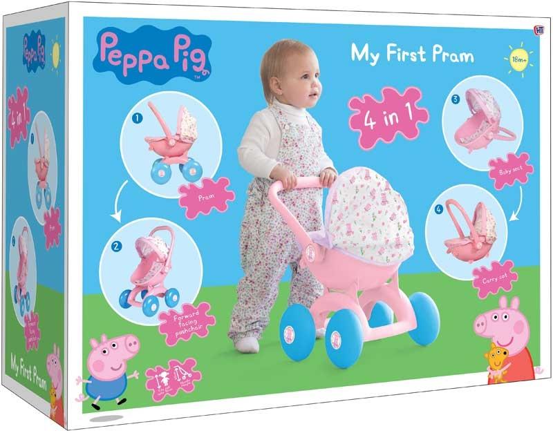 Peppa Pig 4 In 1 My First Pram Wholesale