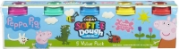 Wholesalers of Peppa Pig 5 Value Dough Pack toys image