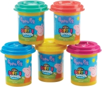 Wholesalers of Peppa Pig 5 Value Dough Pack toys image 2