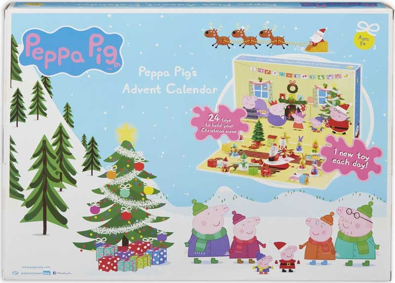 Wholesalers of Peppa Pig Advent Calendar toys