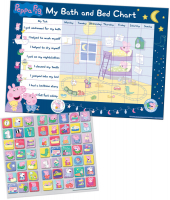 Wholesalers of Peppa Pig Bath And Bedtime Reward Chart And Stickers toys image 2