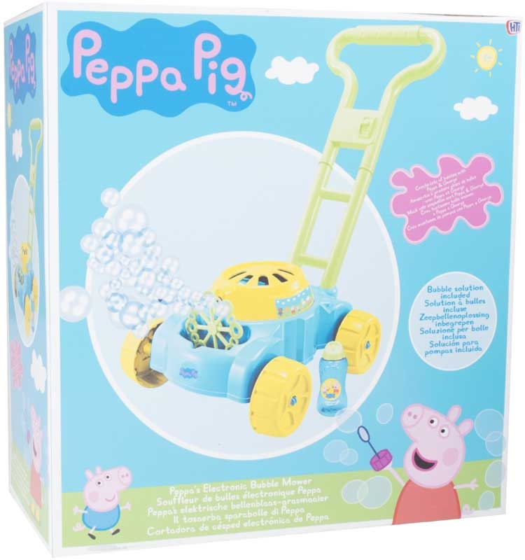 Wholesalers of Peppa Pig Bubble Mower toys