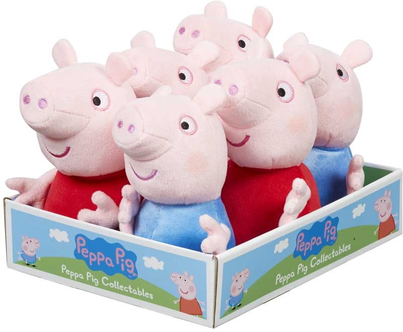 Wholesalers of Peppa Pig Collectable Plush toys