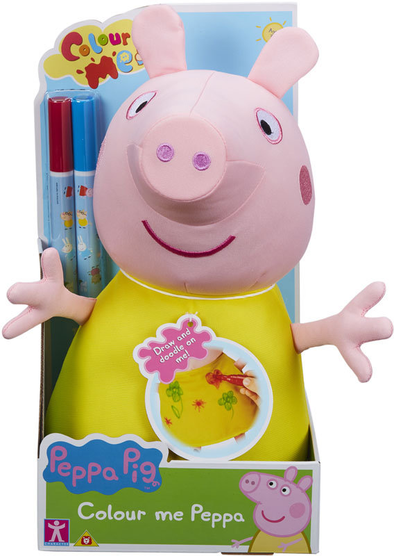 Wholesalers of Peppa Pig Colour Me Peppa toys