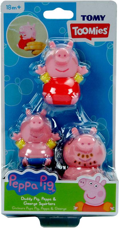Wholesalers of Peppa Pig Daddy Pig   Peppa   George Bath Squirters toys