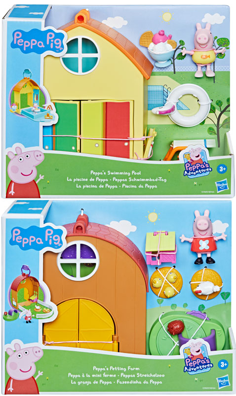 Wholesalers of Peppa Pig Day Trip Asst toys