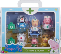 Wholesalers of Peppa Pig Doctors And Nurses Figure Pack toys image