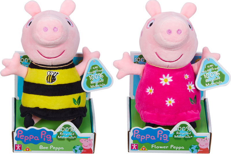 Wholesalers of Peppa Pig Eco Plush Asst toys