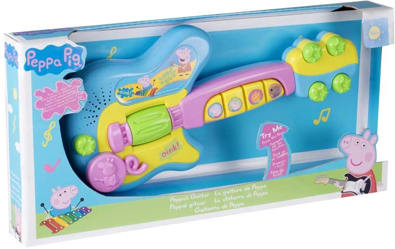 Wholesalers of Peppa Pig Electronic Guitar toys
