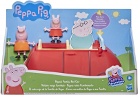 Wholesalers of Peppa Pig Family Red Car toys image