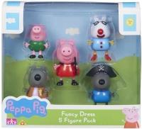Wholesalers of Peppa Pig Fancy Dress 5-figure Pack toys image
