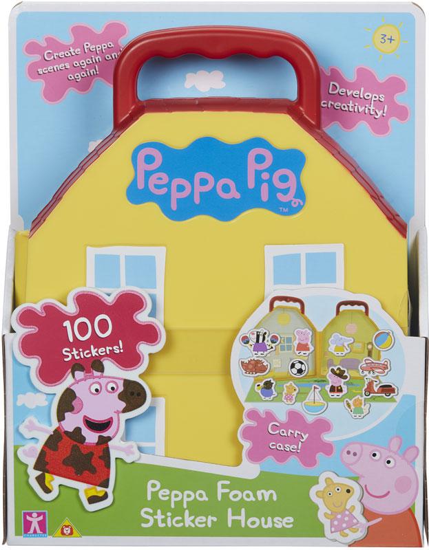Wholesalers of Peppa Pig Foam Fun Sticker House toys