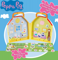 Wholesalers of Peppa Pig Foam Fun Sticker House toys image 4