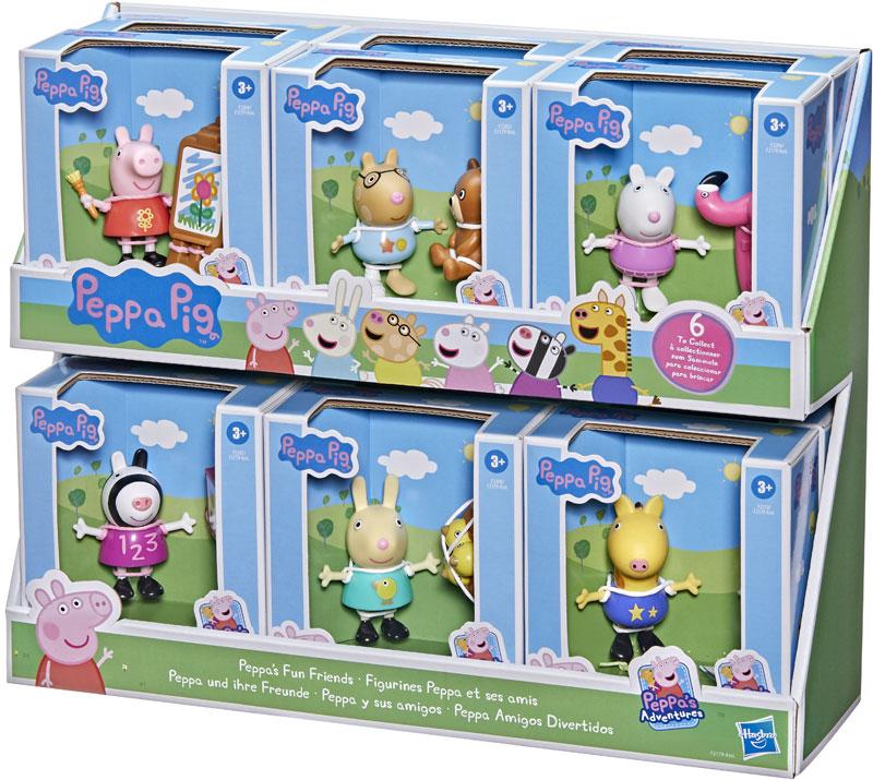 Wholesalers of Peppa Pig Fun Friends Figures Asst toys