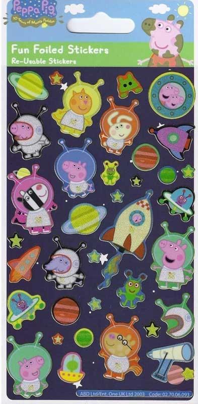 Wholesalers of Peppa Pig George Stickers toys