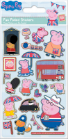 Wholesalers of Peppa Pig Glorious Britain Foil Stickers toys image