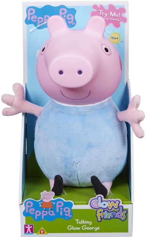 Wholesalers of Peppa Pig Glow Friends Talking Glow George toys