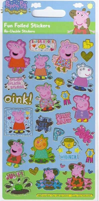 Wholesalers of Peppa Pig Golden Boots Stickers toys