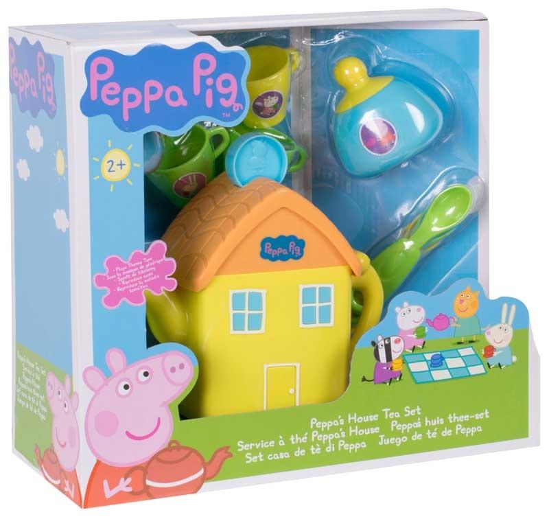 Wholesalers of Peppa Pig House Tea Set toys
