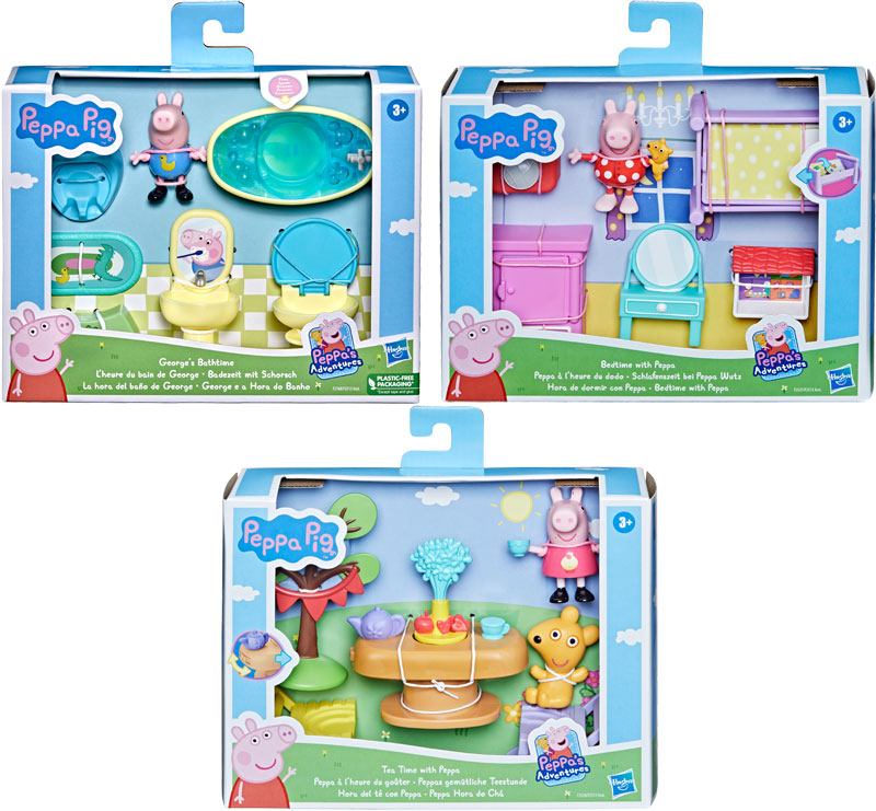 Wholesalers of Peppa Pig Little Spaces Asst toys