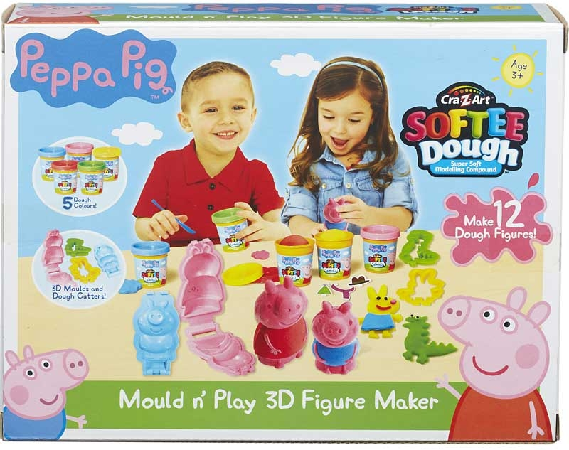 Wholesalers of Peppa Pig Mould N Play 3d Figure Maker toys