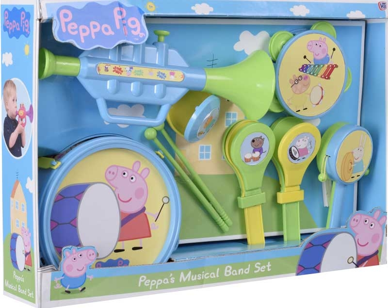 Wholesalers of Peppa Pig Musical Band Set toys