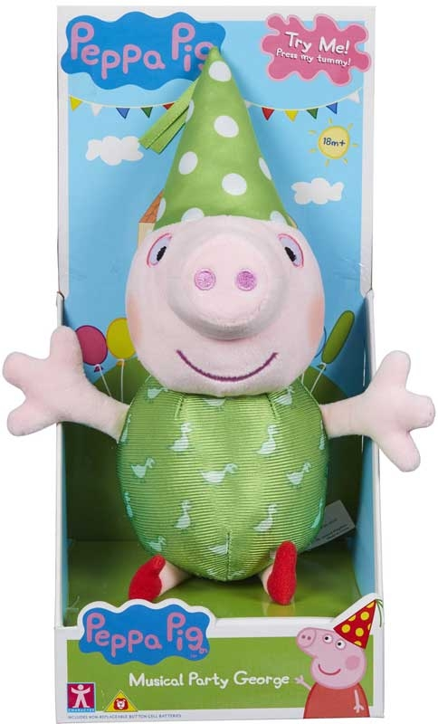 Wholesalers of Peppa Pig Musical Party Peppa And George toys
