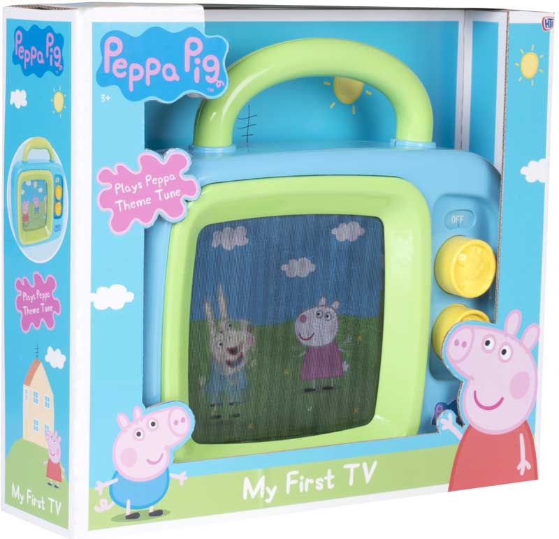 Wholesalers of Peppa Pig My 1st Tv toys