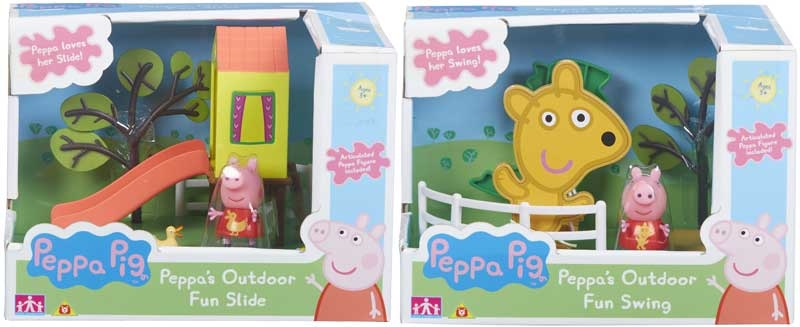 Wholesalers of Peppa Pig Outdoor Fun Swing-slide toys