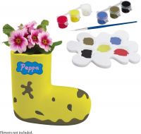 Wholesalers of Peppa Pig Paintable Boot Planter toys image 3