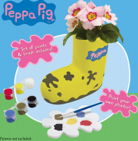 Wholesalers of Peppa Pig Paintable Boot Planter toys image 5