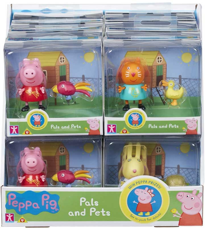 Wholesalers of Peppa Pig Pals And Pets toys