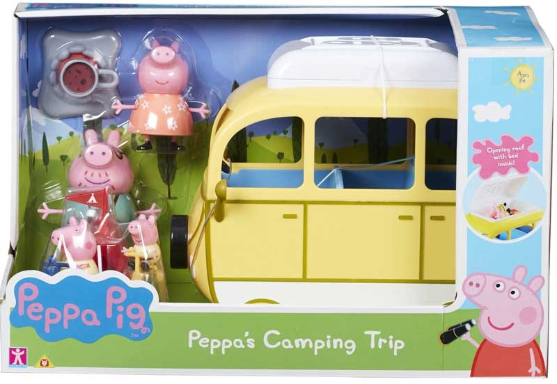 Wholesalers of Peppa Pig Peppas Camping Trip toys