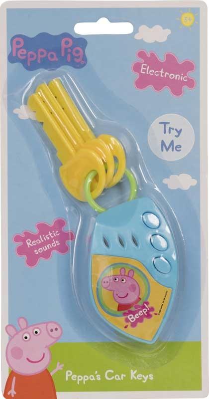 Wholesalers of Peppa Pig Peppas Car Keys toys