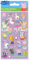 Wholesalers of Peppa Pig Pink Foil Stickers toys image