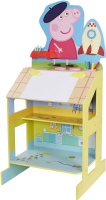 Wholesalers of Peppa Pig Play And Draw Wooden Easel toys image