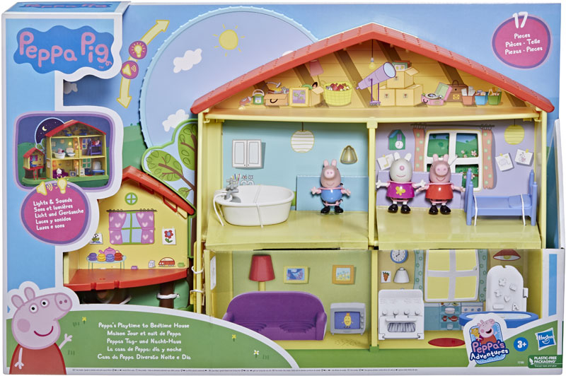 Wholesalers of Peppa Pig Playtime To Bedtime House toys